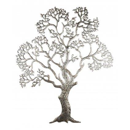 strom Nástenná dekorácia kov 90x75cm