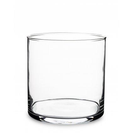 miska priehľadne sklo valec 15x15x15cm