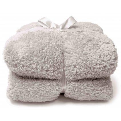 Hebká deka Teddy krémová 150x200cm