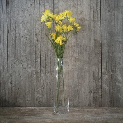 FRÉZIA  ŽLTÁ  umelý kvet 70cm