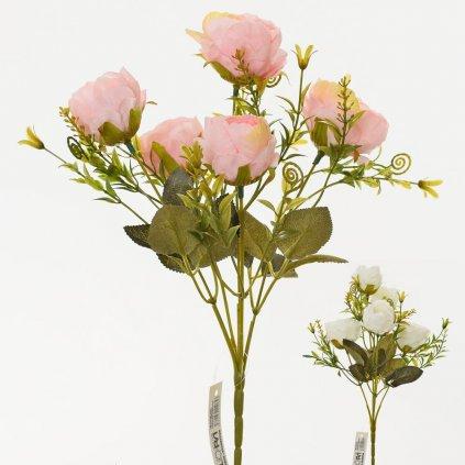 KYTICA RUŽA MIX 4 FARIEB 30cm