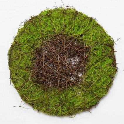 PODLOŽKA PRÚTIE Zelená prírodná 25CM