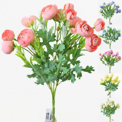 KYT. RANUNCULUS 25CM MIX 6 FAR