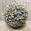krušpánová gúľa zelena jemne bielená 22cm