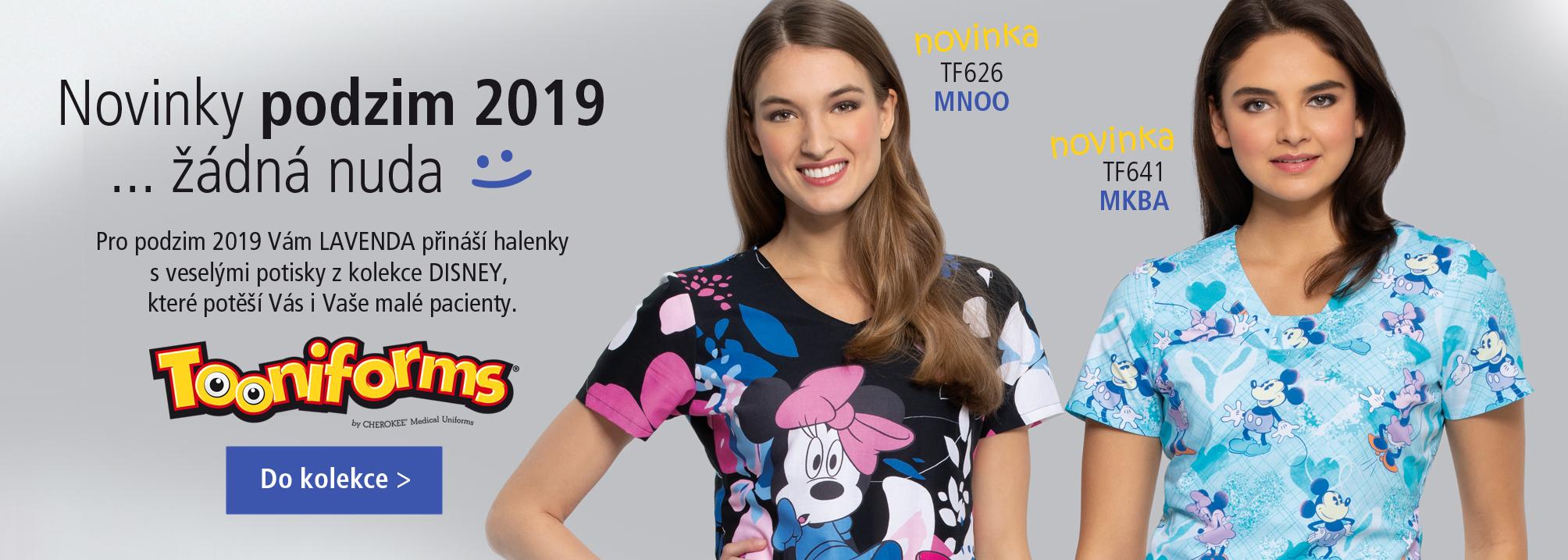 Novinky Disney podzim 2019