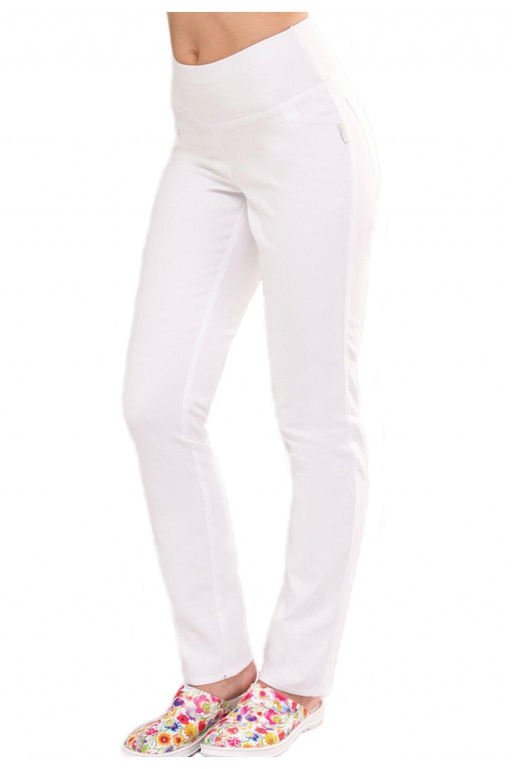 Kalhoty stretchové s úpletem 453