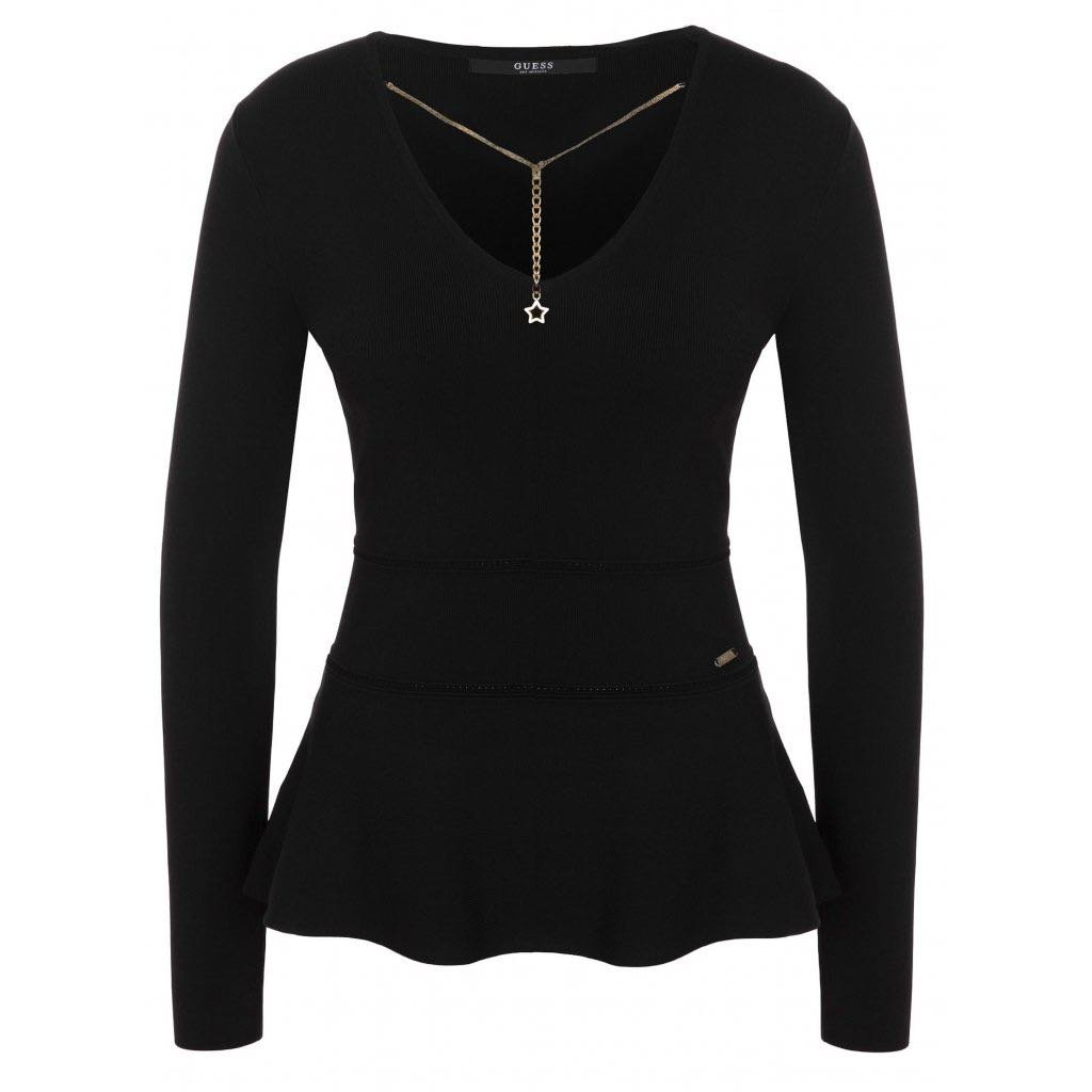 Černý svetr - GUESS