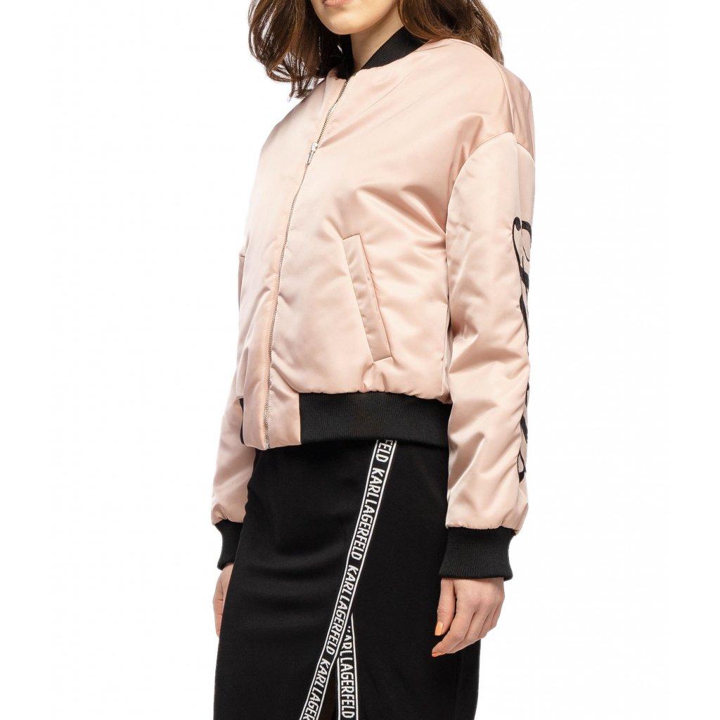 Růžová bunda - KENZO