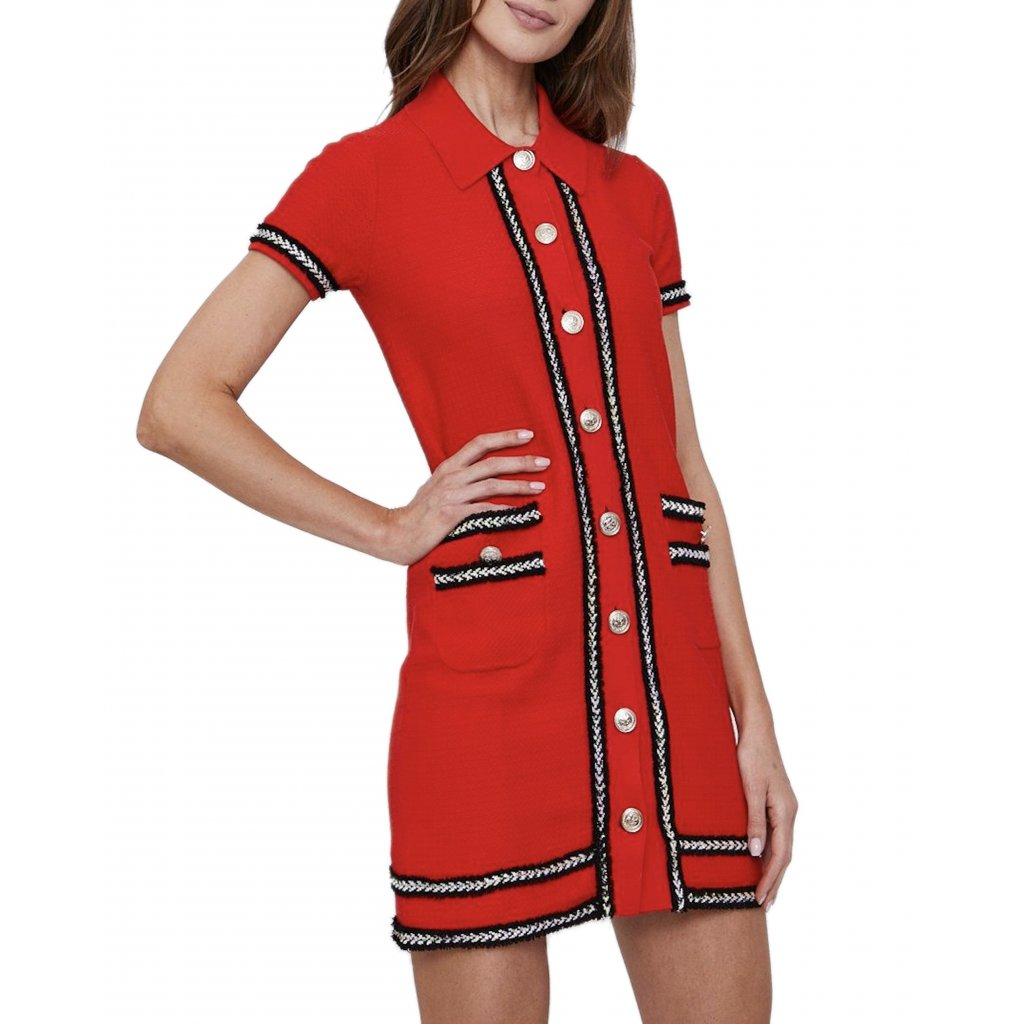 Červené šaty - PINKO