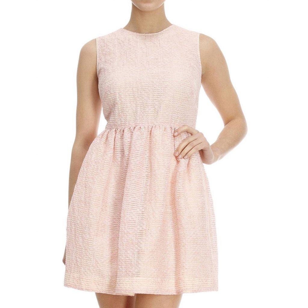 Růžové šaty - RED VALENTINO