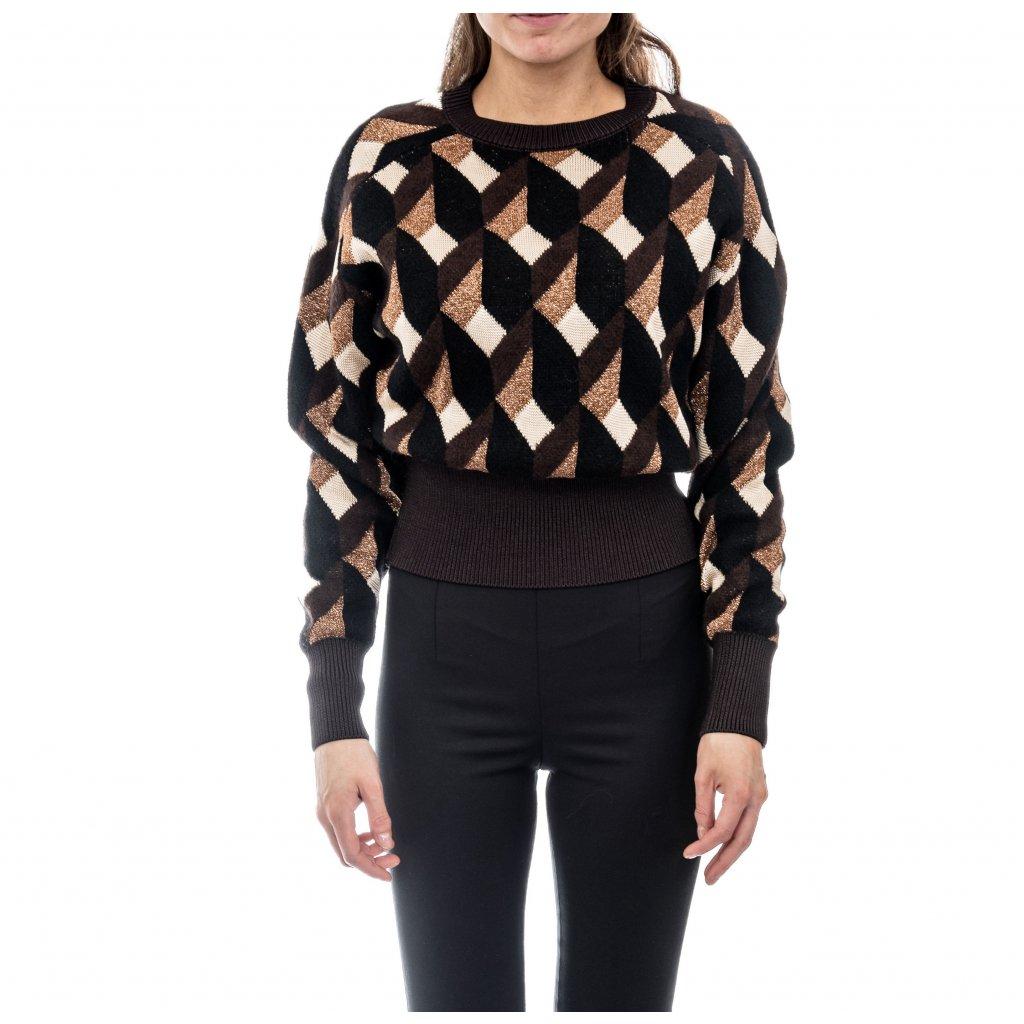 Vlněný svetr - HUGO BOSS