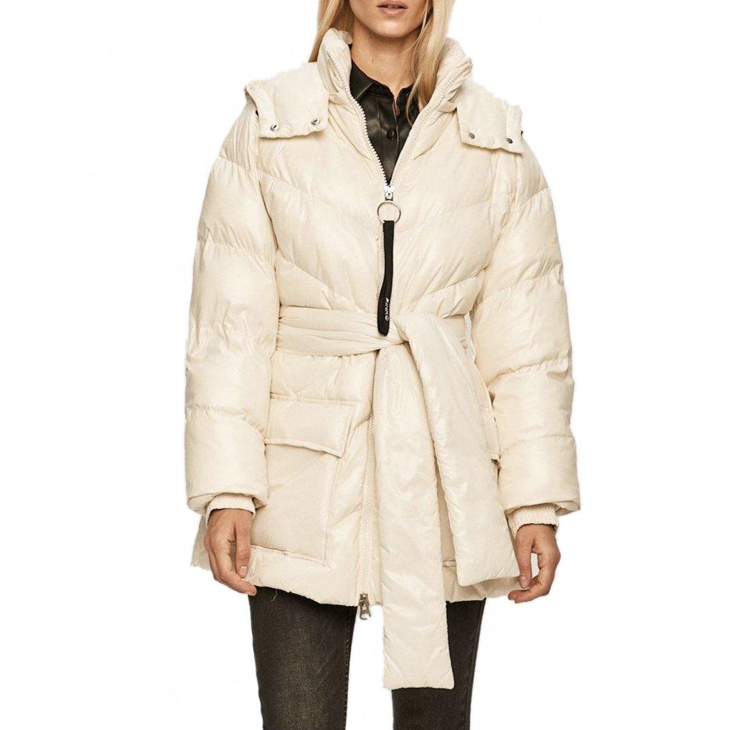 Bílá zimní bunda - PINKO