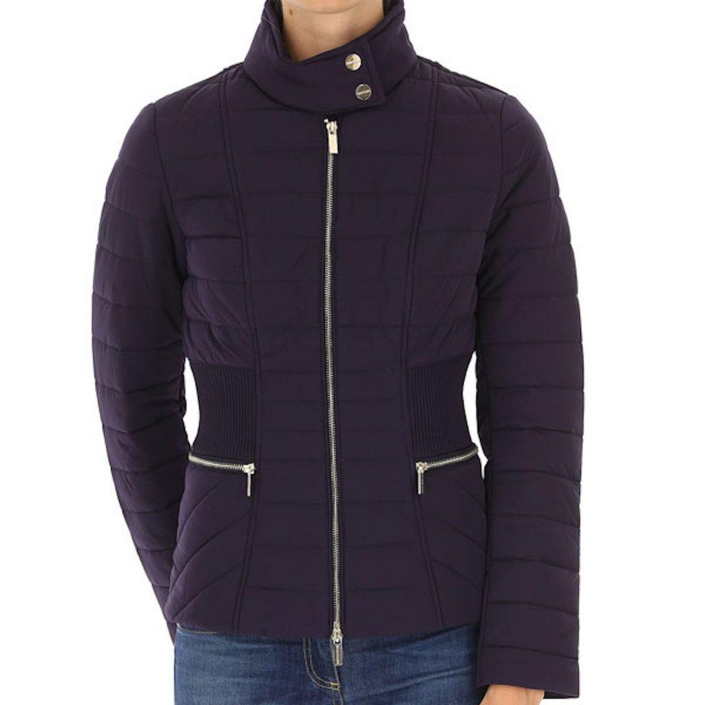 Tmavě modrá zimní bunda - GUESS