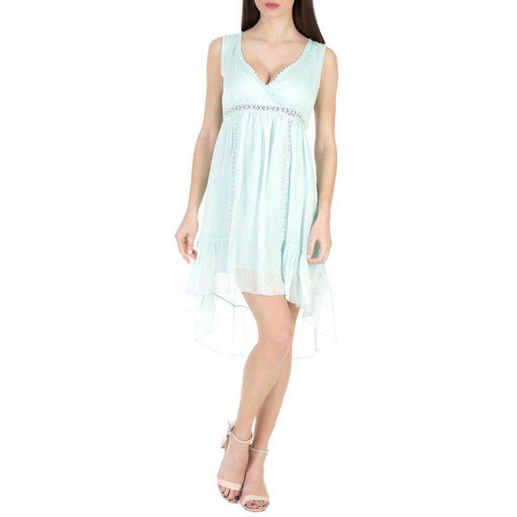 Světle zelené šaty - GUESS