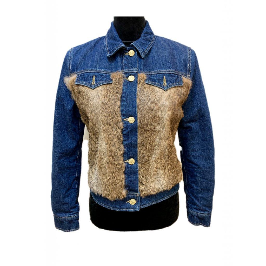 Jarní jeansová bunda CYCLE