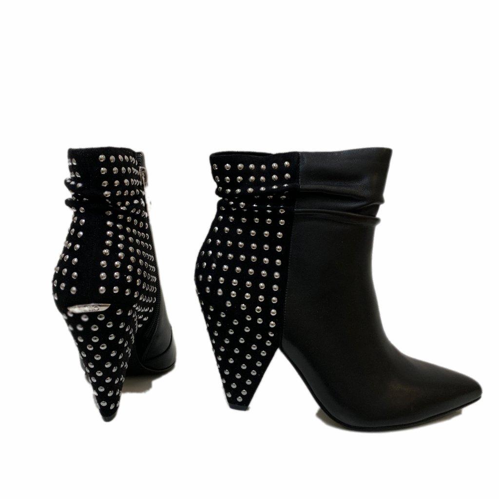 Kotníkové kožené boty - LIU JO
