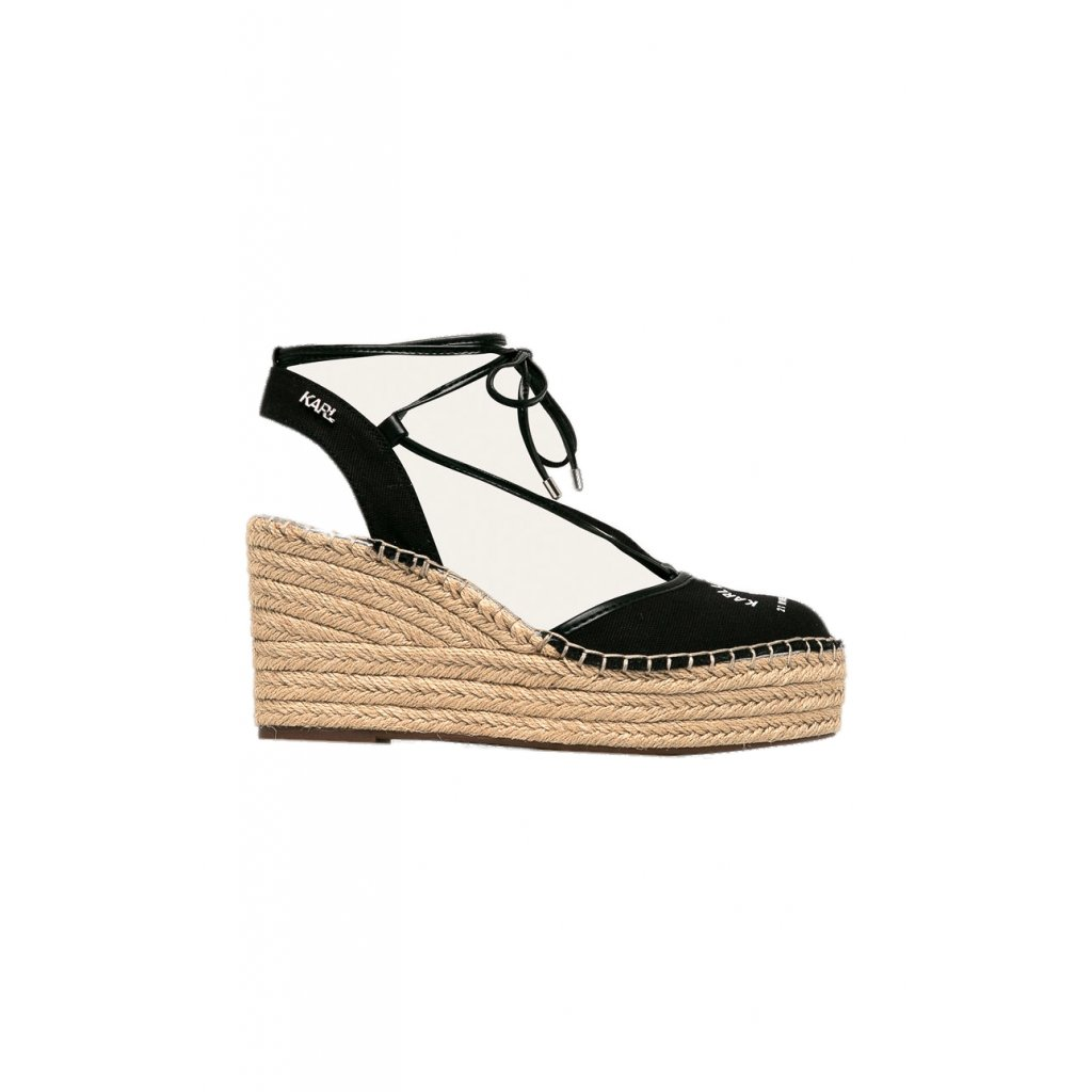 Černé sandály - KARL LAGERFELD