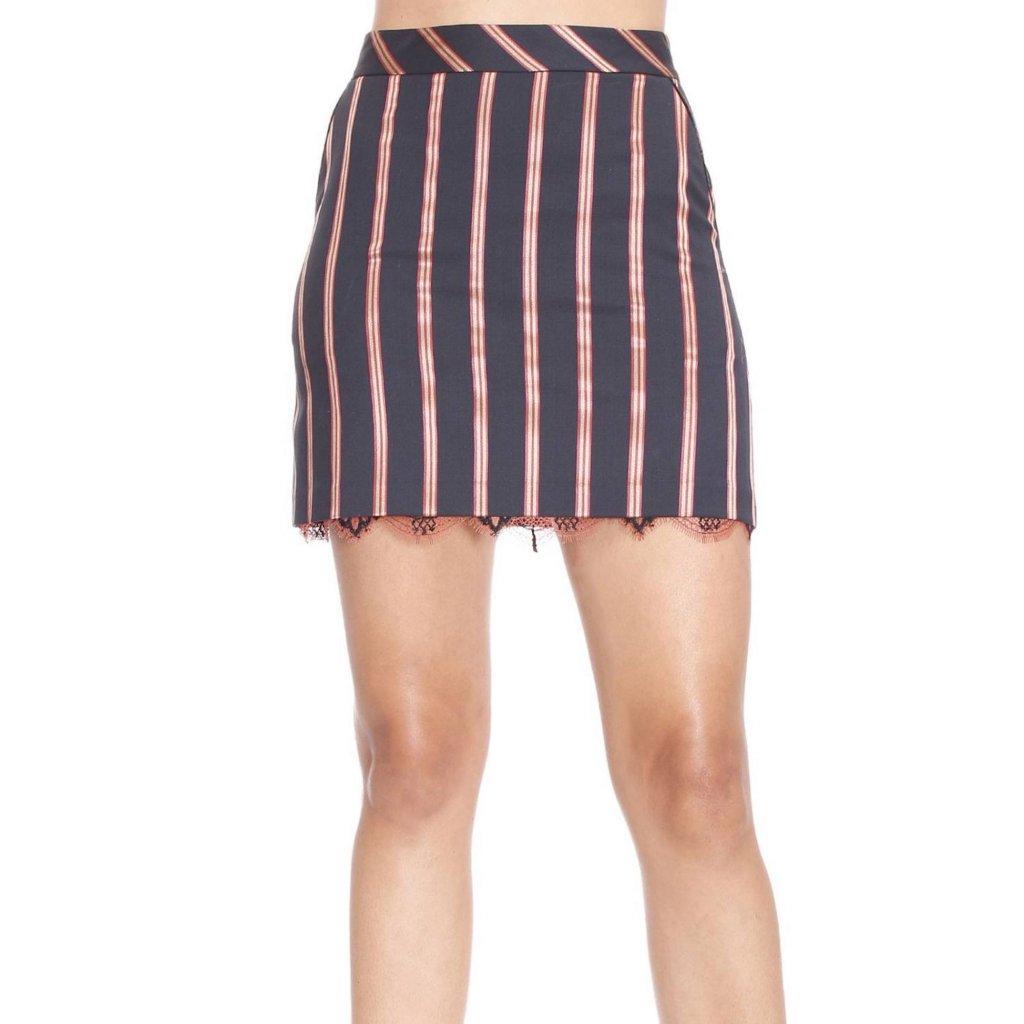 Pruhovaná sukně  - PINKO