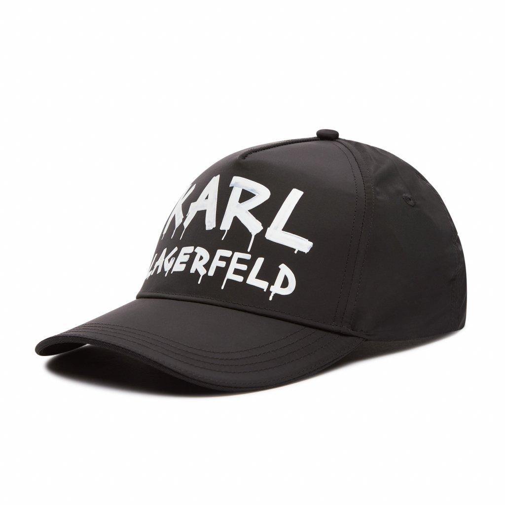 karl lagerfeld ksiltovka 206w3412 cerna