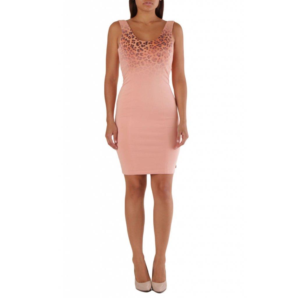 Růžové šaty - MET JEANS
