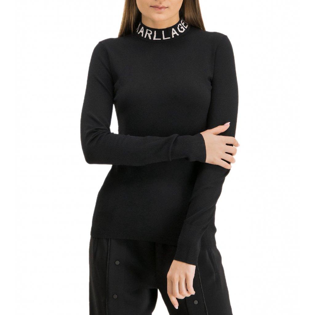 Černý svetr - KARL LAGERFELD