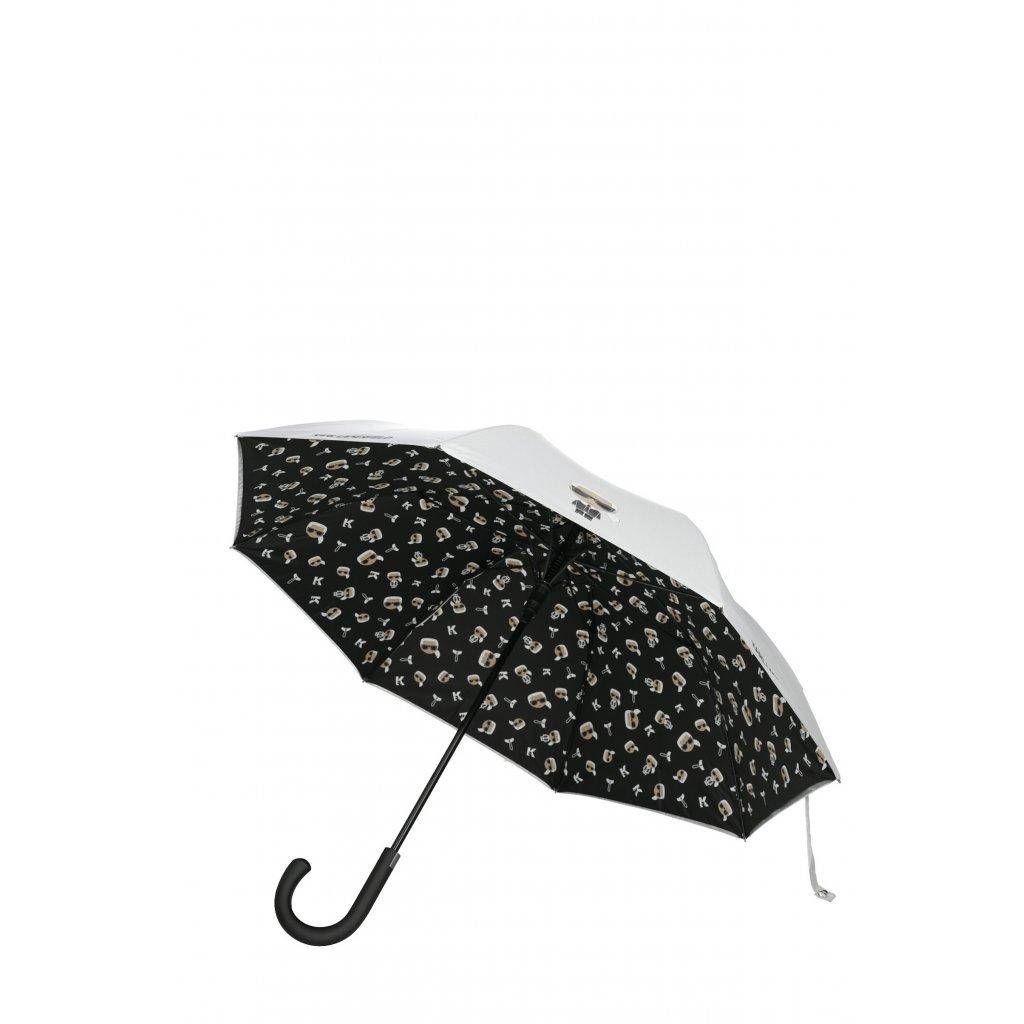 Bílý deštník - KARL LAGERFELD   Ikonik
