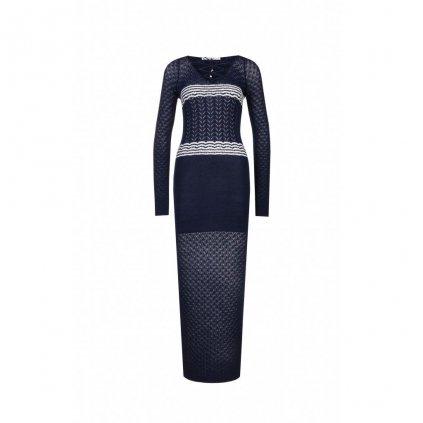 Tmavomodré šaty - GUESS