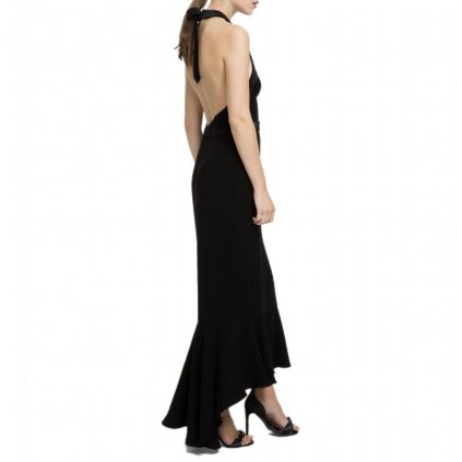 Luxusní černé šaty - KARL LAGERFELD | Limitovaná edice