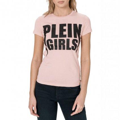 Růžové tričko - PHILIPP PLEIN