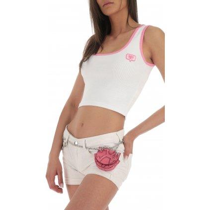 Bílé tričko - CHIARA FERRAGNI
