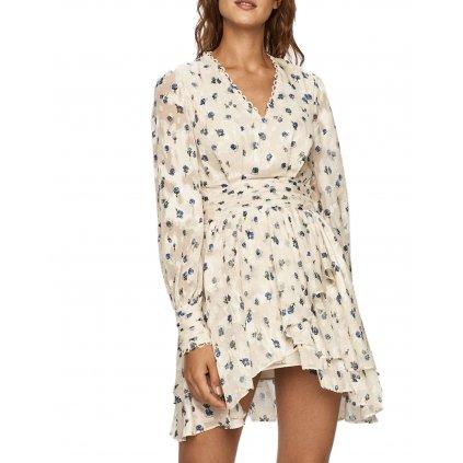 Smetanové šaty - MISS SIXTY
