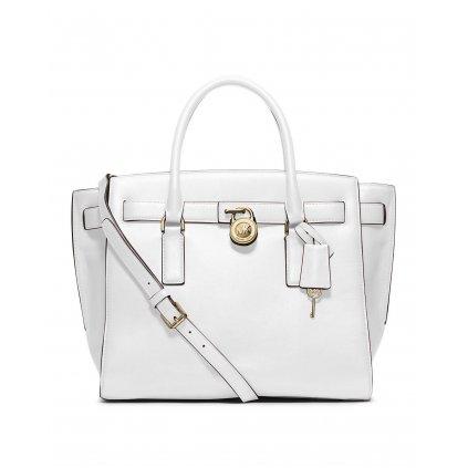 Bílá kožená kabelka - MICHAEL KORS