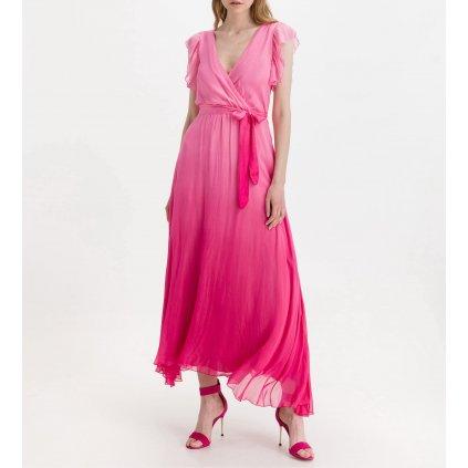 Růžové šaty - GUESS
