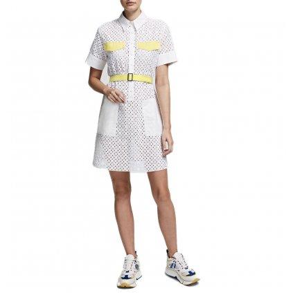 Bílé šaty - KARL LAGERFELD