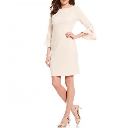 Růžové šaty - KARL LAGERFELD