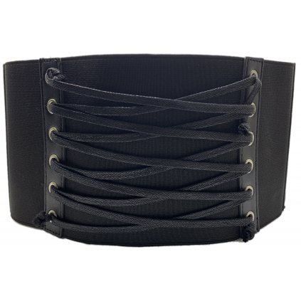 Černý elastický opasek - PINKO