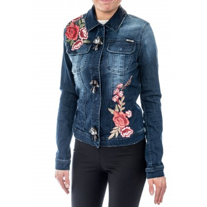 Modrá džínová bunda - MET JEANS