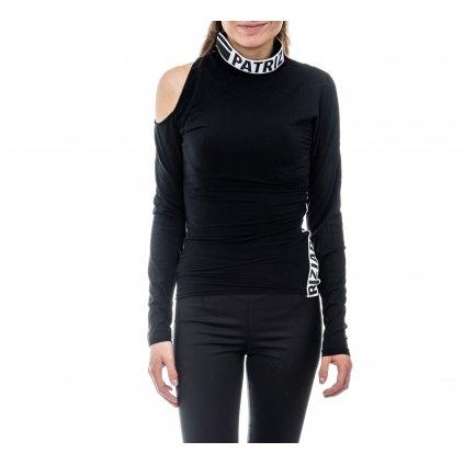 Černé tričko - PATRIZIA PEPE