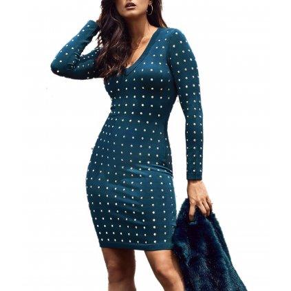 Modré šaty - MARCIANO GUESS