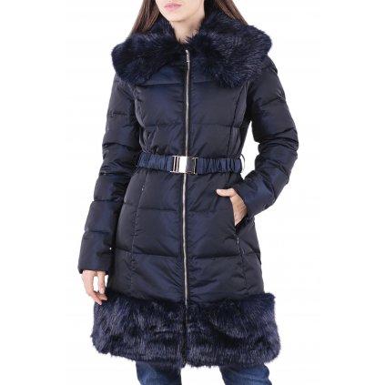 Tmavě modrý péřový kabát - MARCIANO GUESS