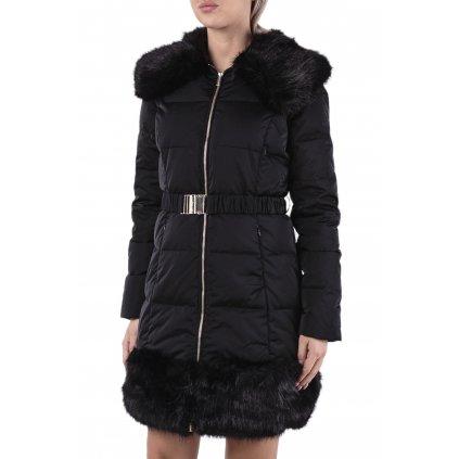 Černý péřový kabát - MARCIANO GUESS