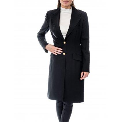Černý vlněný kabát - DOLCE & GABANNA
