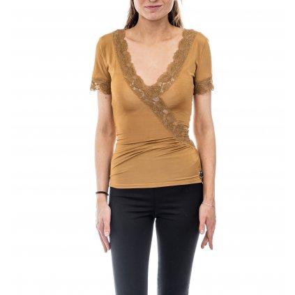 Béžové tričko - GALLIANO