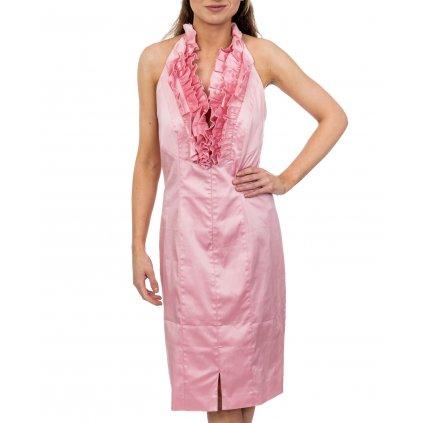 Růžové šaty - ESCADA