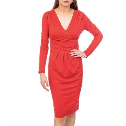 Červené šaty - MARC CAIN