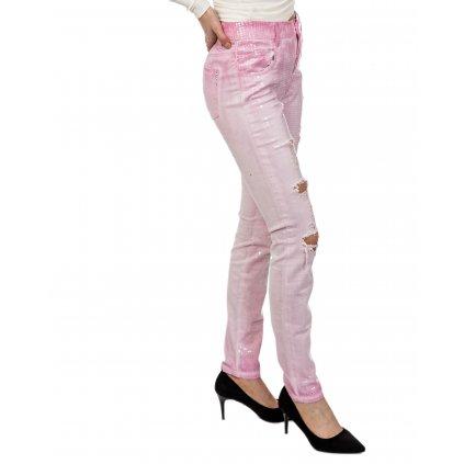 Růžové džíny - MET JEANS