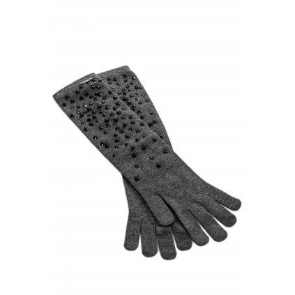 Šedé rukavice - LIU JO