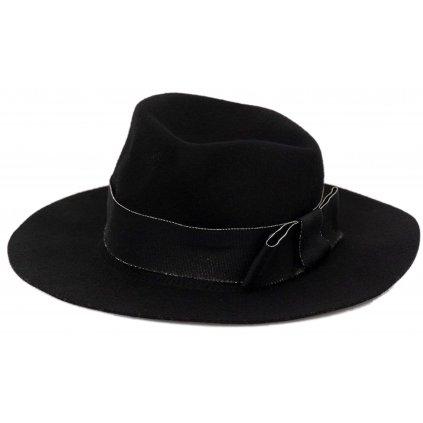 Černý vlněný klobouk - TWINSET