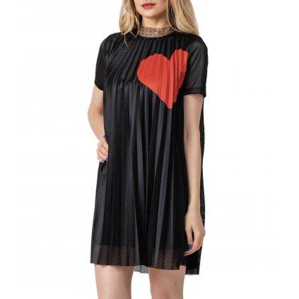 Černé šaty - RED VALENTINO