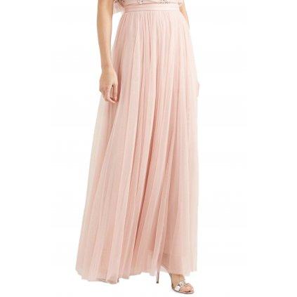 Růžová sukně - NEEDLE & THREAD